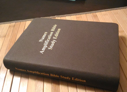 Names Amplification Bible by Peter Whiffin | The Ministry Of